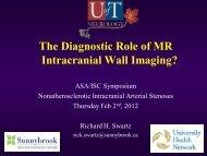 Intracranial Wall Imaging