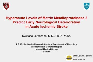Thrombolysis for acute ischemic stroke: Main outcome results for ...