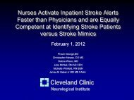 Nurses Activate Inpatient Stroke Alerts Faster than Physicians and ...