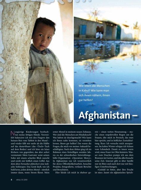 Afghanistan –