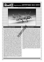 Supermarine SPITFIRE IXC/XVI