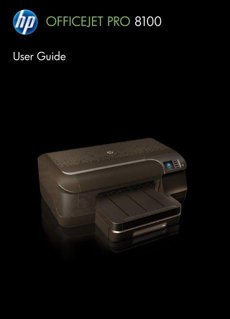 HP Officejet Pro 8100 ePrinter - ENWW - Newegg com