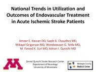 National Trends in Utilization and Outcomes of Endovascular ...