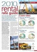 2010 rental rate survey c&a - Vertikal.net - Page 2