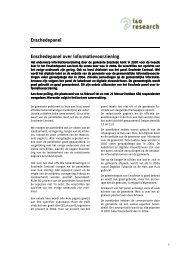 Informatievoorziening gemeente Enschede