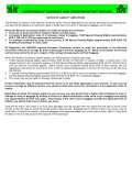 CONDITIONS OF CONTRACT AND OTHER IMPORTANT NOTICES - Seite 5