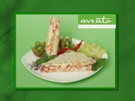 Folie 1 - Business-Catering in Berlin - Aveato Business Catering