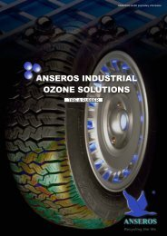 Anseros Ozone Technology in tire & rubber