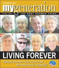My Generation November 2009 - Keep Me Current