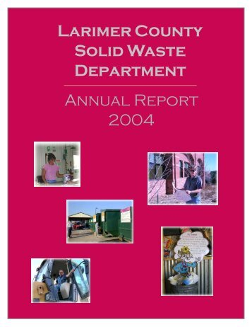Larimer County Solid Waste Department - About Larimer County