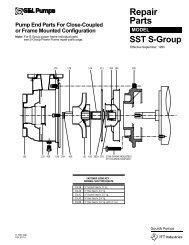 SST-S Group Repair Parts