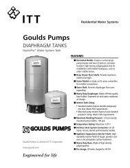 Hydro-Pro Pressure Tanks