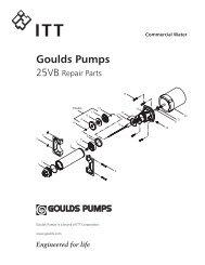Goulds Pumps