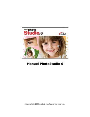 Manuel PhotoStudio 6 - ArcSoft