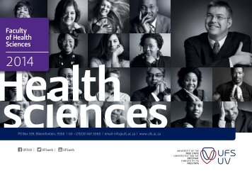 Faculty of Health Sciences - University of the Free State