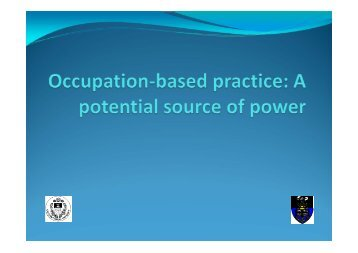 Powerpoint - Faculty of Health Sciences