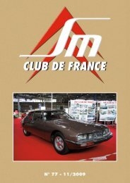 Revue SM Cmub de France - E-Loader.net