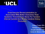 Endovascular Revascularization is Associated With Better Outcomes ...