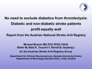 Diabetic and non-diabetic stroke patients profit equally well