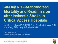 30-Day Risk-Standardized Mortality and Readmission after Ischemic ...