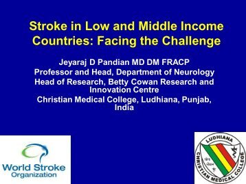Stroke in Low and Middle Income Countries: Facing the Challenge
