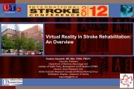 Virtual Reality in Stroke Rehabilitation: An Overview