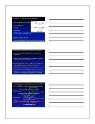 Lecture 27: Posttranscriptional Events • Posttranscriptional control ...