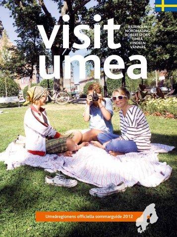 Umeåregionens officiella sommarguide 2012 - IQ Pager