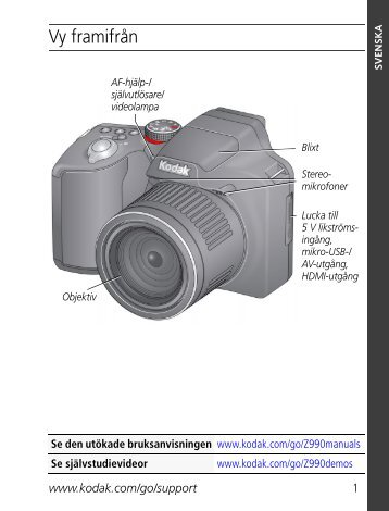 Vy framifrån - Kodak