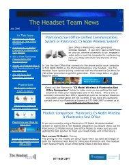 The Headset Team - ABC Company Corporate Headset Program ...