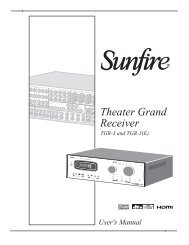 Theater Grand Receiver
