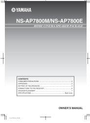 NS-AP7800M/NS-AP7800E - Datatail