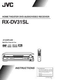 RX-DV31SL - One Call