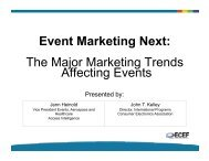 Event Marketing Next: The Major Marketing Trends Affecting Events