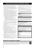 RX-V2600 - Electronic Warehouse - Page 4