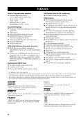 RX-V2600 - Electronic Warehouse - Page 6