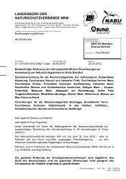 (Sammelverordnung), Kreis Steinfurt - Landesbüro der ...