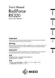 RadiForce RX320 User's Manual - Newegg.com