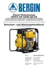 und Wartungshandbuch Diesel Motorpumpe WPD4-HP ... - Rotek