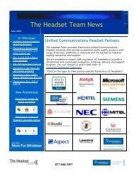 The Headset Team News - ABC Company Corporate Headset ...