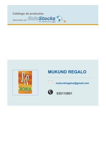 MUKUND REGALO