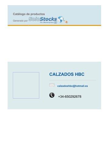CALZADOS HBC