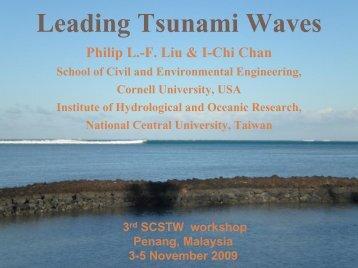 Solitary wave - Universiti Sains Malaysia, Penang