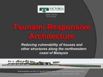 Tsunami - Universiti Sains Malaysia, Penang - USM