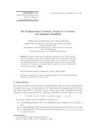 On Conharmonic Curvature Tensor in K-contact and Sasakian ...