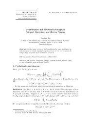 Boundedness for Multilinear Singular Integral Operators on Morrey ...