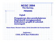 NCGC 2004 - Universiti Sains Malaysia, Penang - USM