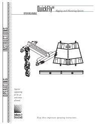 Quickfly Operating Manual - Meyer Sound Laboratories Inc.