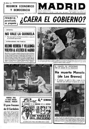 Madrid 19680521 - Home. Fundación Diario Madrid
