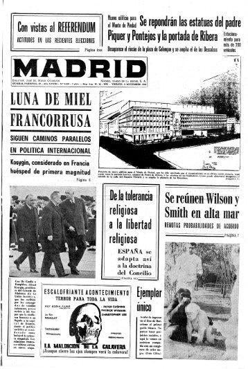 Madrid 19661202 - Home. Fundación Diario Madrid